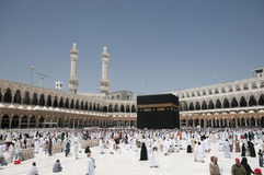 Kaaba in Makkah, Königreich von Saudi-Arabien. Lizenzfreie Stockfotos