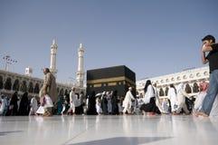 Kaaba in Makkah, Koninkrijk van Saudi-Arabië. Royalty-vrije Stock Afbeeldingen