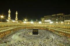 Kaaba in Makkah, Koninkrijk van Saudi-Arabië. stock foto