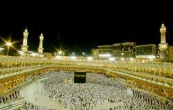 Kaaba in Makkah, Koninkrijk van Saudi-Arabië. Stock Fotografie