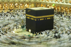 Kaaba in Makkah, Koninkrijk van Saudi-Arabië. Royalty-vrije Stock Afbeelding