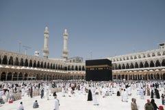 Kaaba in Makkah, Koninkrijk van Saudi-Arabië. Royalty-vrije Stock Foto's