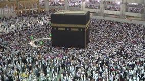 Kaaba, Masjidil Haram, Makkah stock video footage