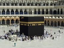 Kaaba in Mecca Royalty Free Stock Image