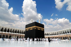 Kaaba in Mecca stock images