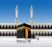 Kaaba Mecca Saudi Arabia. Illustration of Kaaba Mecca Saudi Arabia Royalty Free Stock Images