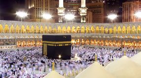 Kaaba in Mekka Royalty-vrije Stock Afbeeldingen