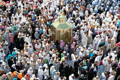 Kaaba The Maqam Ibrahim Royalty Free Stock Photo