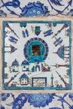 Kaaba tile in Rustem Pasha Mosque, Istanbul Stock Image