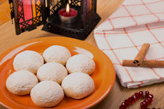 Kaak El Eid - Eid El Fitr. Kahk El Eid - Feast Cookies Royalty Free Stock Photography