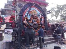 Kaal Bhairav Στοκ Φωτογραφία