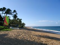 Kaanapali beach coastline Stock Photography
