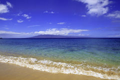 Kaanapali beach on maui Royalty Free Stock Photo
