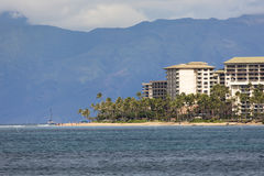 Kaanapali Beach, Maui Hawaii Tourist Destination Royalty Free Stock Photography