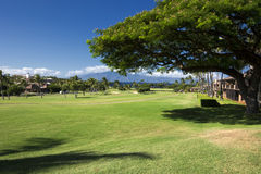 Kaanapali golf course west coast of Maui, Hawaii Stock Image