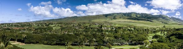 Kaanapali - West Hills Stock Image