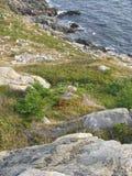 Kaap Bretonse Rotsen 2 stock afbeeldingen