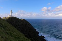 Kaap Byron Light royalty-vrije stock fotografie