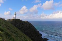 Kaap Byron Light stock foto's
