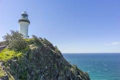 Kaap Byron Lighthouse Stock Foto's