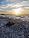 Kaap Cody Sunset Stock Afbeelding