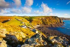 Kaap Cornwall Royalty-vrije Stock Foto's