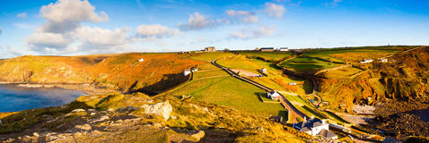 Kaap Cornwall Stock Foto's