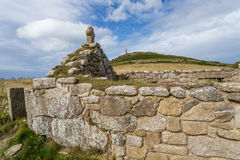 Kaap cornwall in Cornwall het UK Engeland Royalty-vrije Stock Afbeeldingen