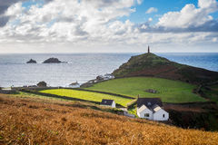 Kaap Cornwall Engeland het UK Royalty-vrije Stock Afbeelding