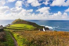 Kaap Cornwall Engeland het UK Stock Fotografie