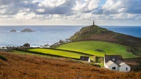 Kaap Cornwall Engeland het UK Stock Foto's