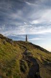 Kaap Cornwall, St enkel, Cornwall Royalty-vrije Stock Foto