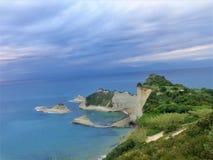 Kaap Drastis in Korfu Royalty-vrije Stock Afbeeldingen