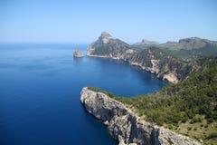 Kaap Formentor Stock Foto
