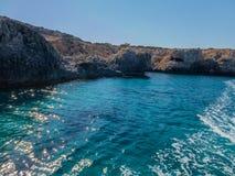Kaap Greco, Cyprus Stock Illustratie
