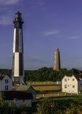 Kaap Henry Lighthouses Royalty-vrije Stock Foto's