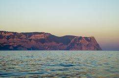 Kaap in het overzees Royalty-vrije Stock Afbeeldingen