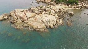 Kaap Hon Chong in Vietnam, Nha Trang stock footage