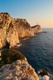 Kaap Lefkatas Royalty-vrije Stock Fotografie