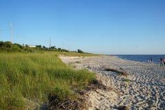 Kaap Mei - mening van de Baai van Delaware Stock Afbeeldingen