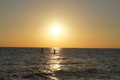Kaap Mei - mening van de Baai van Delaware Stock Foto's