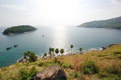 Kaap Promthep Phuket Royalty-vrije Stock Afbeeldingen
