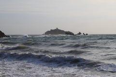 Kaap in Punta Ala royalty-vrije stock afbeelding