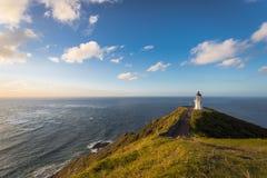 Kaap Reinga in Nieuw Zeeland Stock Foto's