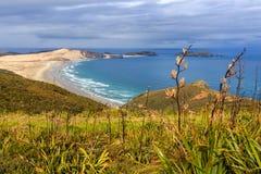 Kaap Reinga, Nieuw Zeeland Stock Afbeeldingen