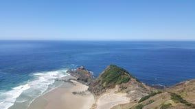 Kaap Reinga, Nieuw Zeeland stock foto