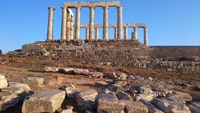 Kaap Sounion Royalty-vrije Stock Afbeelding