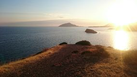 Kaap Sounion Stock Afbeelding