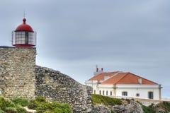 Kaap St. Vincent, Algarve, Portugal Stock Foto's