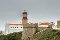 Kaap St. Vincent, Algarve, Portugal Stock Foto